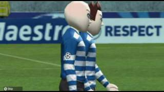 Pro Evolution Soccer 2010 Wii UEFA Champions League Gameplay - Group D Match Day 6 HD