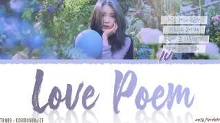 Download IU (아이유) - 'LOVE POEM' (러브 포엠) Lyrics [Color Coded_Han_Rom_Eng] Mp3 and Videos
