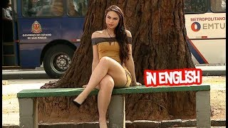 Brunette moves legs and wives get furious - English version