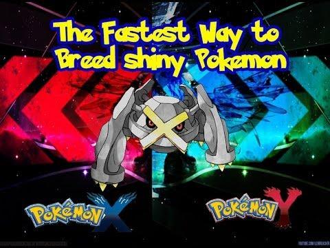 Fastest Way To Breed Shiny Pokemon (Pokemon X and Pokemon ...