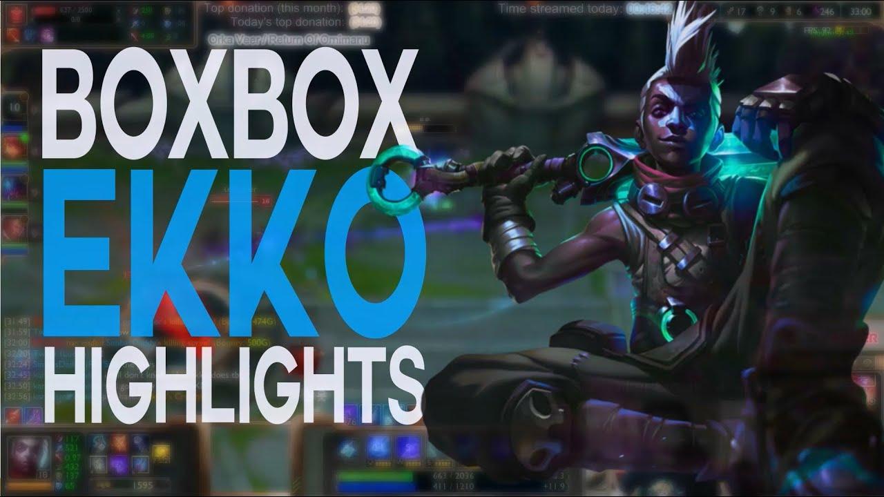Tuyển tập Ekko trong tay BoxBox