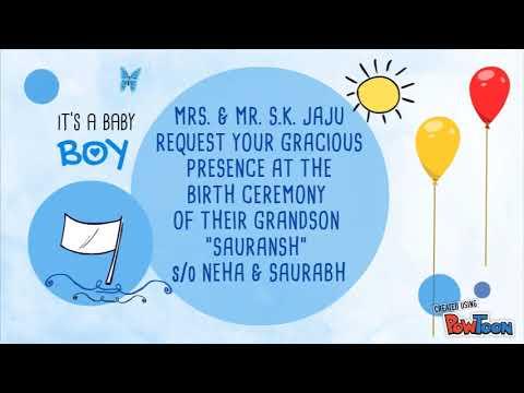 Jalwa Function Invitation Youtube