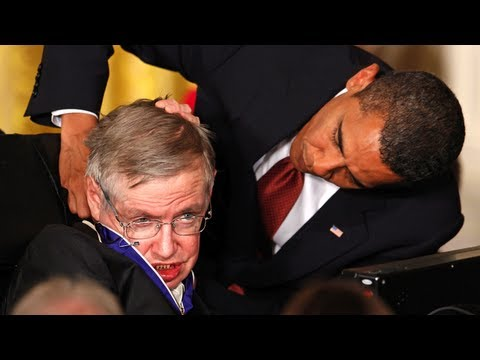 Stephen Hawking At The White House