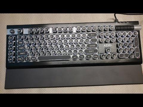 Azio Armato Mechanical Keyboard Review (OARMY Green Switch)