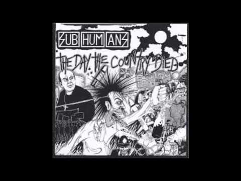 Subhumans - No more gigs