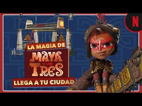 La aventura de Maya y los tres llega a tu ciudad