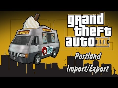 GTA III | Portland Import/Export Vehicles