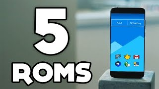 Top 5 BEST Custom ROMs in 2017 ! (Flasholic Special)