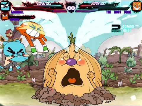 Mugen Request Gumball and Darwin vs The Root Pack