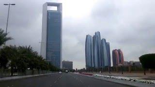 UAE Weather: Abu Dhabi Under Cloudy Skies