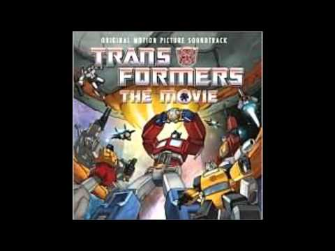 1986 Transformers The Movie soundtrack: The Transformers (Theme) by Lion