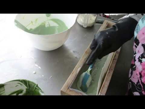 Making Castor Soap