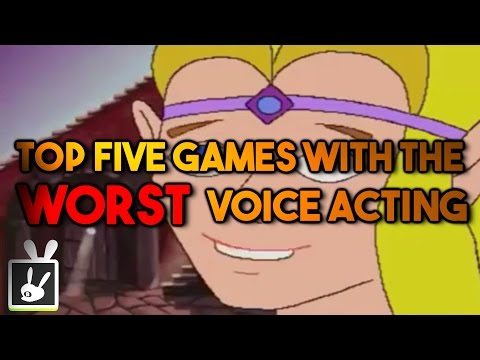 Top Five Games with the Worst Voice Acting