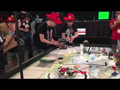 JunioTech 2017 Alberta Champion FLL Team at the World FLL Championship