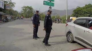 ICC T20 AFGHANISTAN BAN international CRICKET match Dehradun POLICE route Photogaman moto vlog