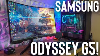 Samsung Odyssey G5!