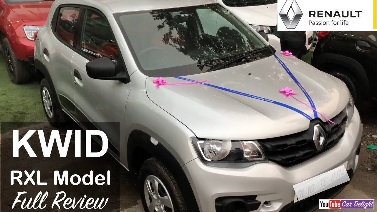 Renault Kwid Rxl Model Review Interior And Exterior Youtube