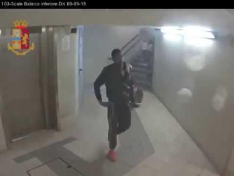 Stazione di Lecco: senza motivo spinge e dà un pugno a due donne #1