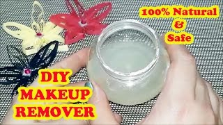 DIY MAKEUP REMOVER - Make your own Eye/Face Makeup Remover at Home