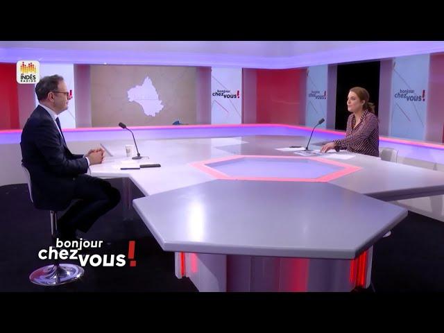 """Public Sénat - Alain Marc : """"Vote anticipé"""" pour le projet de loi sur l'élection présidentielle"""