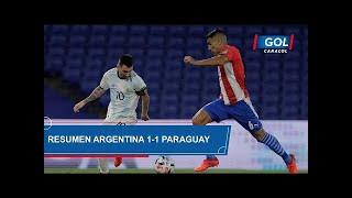 Argentina vs Paraguay (1 - 1): resumen del partido – Eliminatorias Sudamericanas