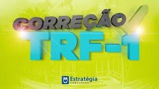 Assista à Correção AO VIVO das provas do concurso TRF-1. Inscreva-s...