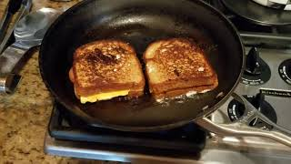 EXTREMELY EASY VEGAN GRILLED CHEESE WITH NATURES OWN 100% WHOLE WHEAT BREAD