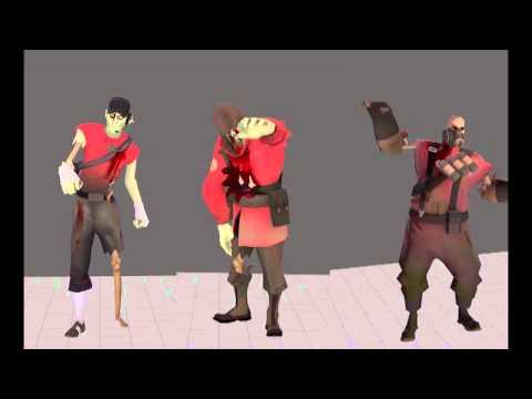 TF2 Taunt: Zombie Shuffle
