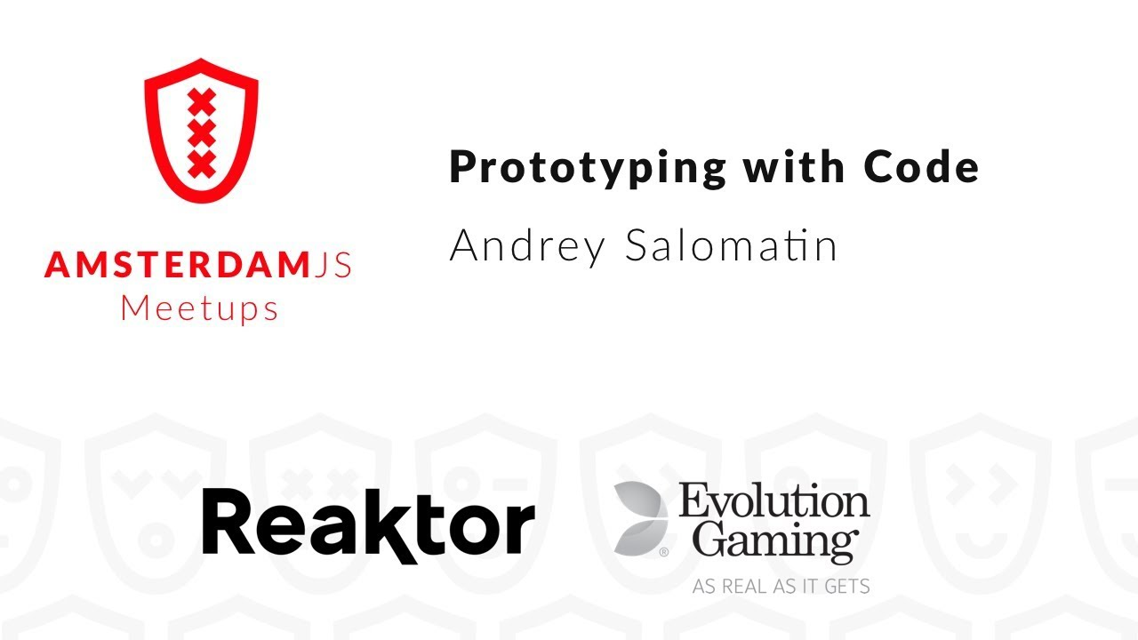 Prototyping with Code – Andrey Salomatin