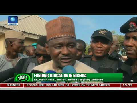 Funding For Education: Lawmaker Makes Case For Increased Budgetary Allocation