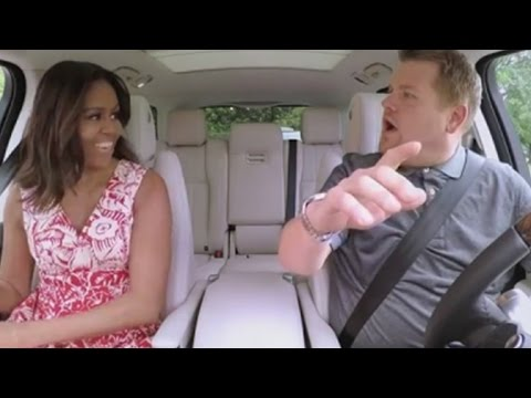 Michelle Obama Sings Beyonce's 'Single Ladies' on 'Carpool Karaoke' and We Can't Contain Our Exci…