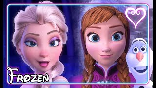 Kingdom Hearts 3 All Cutscenes | Full Movie | Frozen ~ Arendelle Kingdom