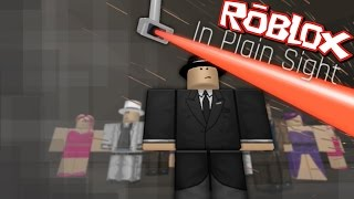 Roblox IN PLAIN SIGHT!! CATCH THE THIEVES WITH YOUR CAMERA'S!!