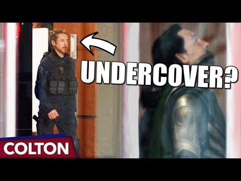 Tony Stark rescuing Loki in Avengers 4?