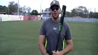 Como Colocar Las Manos Correctamente En El Bate De Beisbol Agarre Agarrar Youtube
