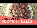 Chocolate Protein Balls Recipe for Weight watchers (1SP) - How to Make Chocolate Protein Balls