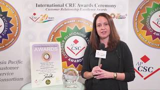2017 APCSC CRE Awards Winners Interviews - Teleperformance China