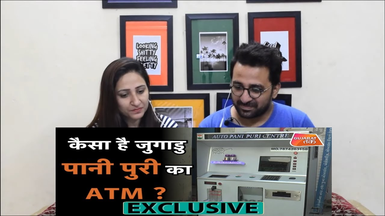 Pakistani Reacts to Exclusive Report : कैसा है जुगाडु Pani Puri का ATM ? Gujarat Tak