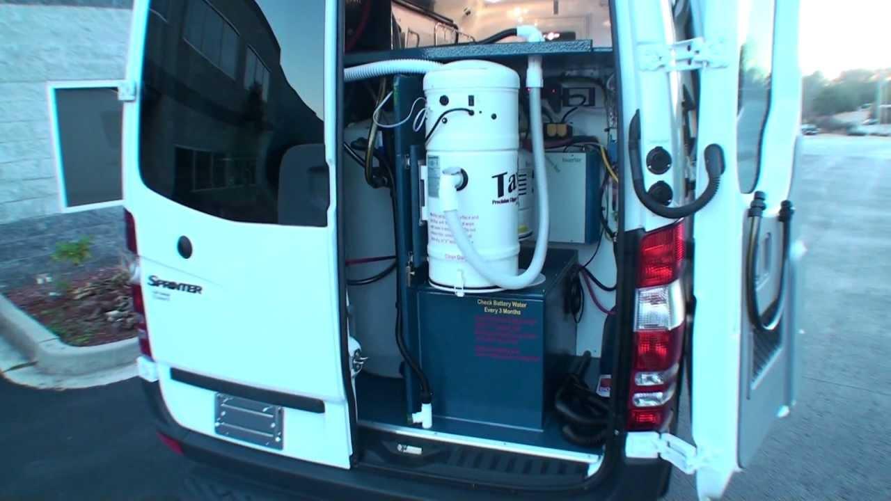 Taxi In Hanvey Sprinter Hybrid Grooming Van HGV By Curtis