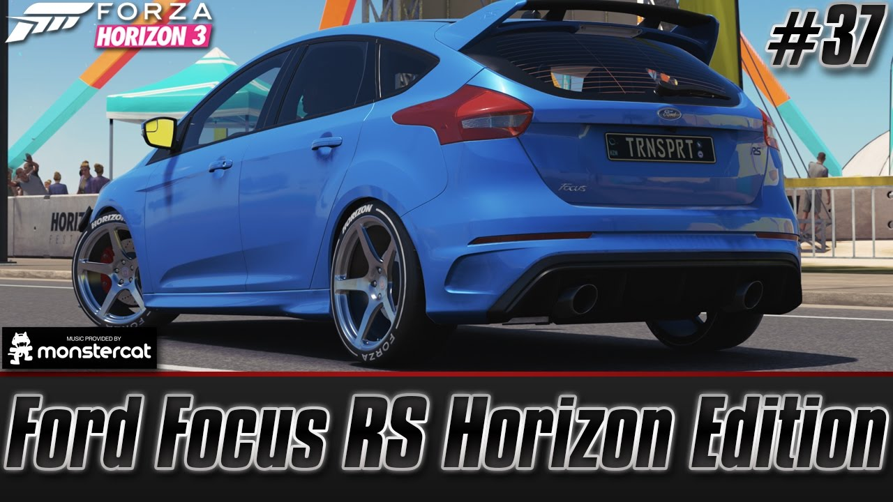 forza horizon 3 xbox one ford focus rs horizon edition. Black Bedroom Furniture Sets. Home Design Ideas
