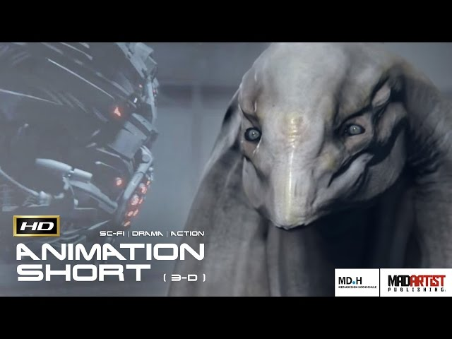 R'HA | CGI 3D Animation - Alien vs Machine, Who's More intelligent? (Mediadesign)