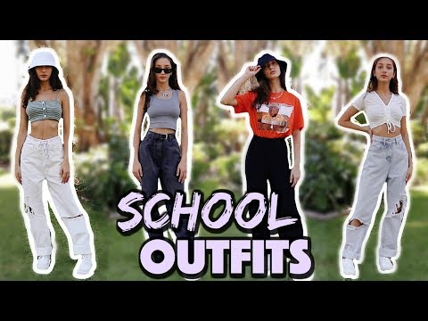 How To Survive High School: Outfit Ideas Ft. PLT 🎒📚