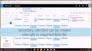 Tutorial: Office 365 Web Calendar