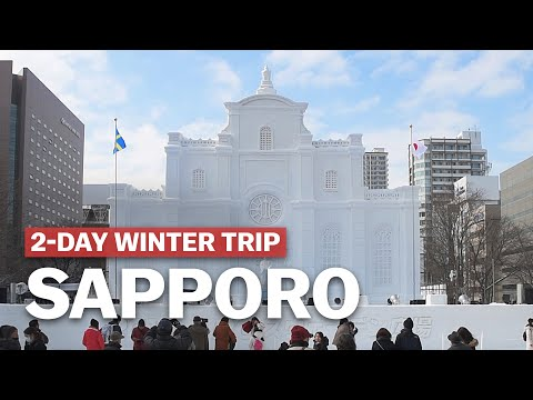 2-Day Sapporo Winter Trip Itinerary | japan-guide.com