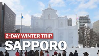2 Day Sapporo Winter Trip Itinerary | japan-guide.com