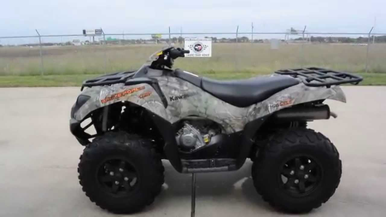 $10,599: 2016 kawasaki brute force 750 camo overview and review