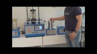 UTEST Triaxial Test System UU-CU-CD