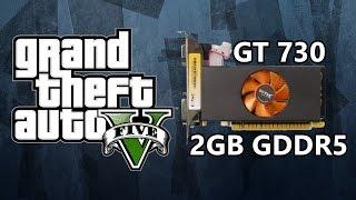 gta v benchmark on zotac gt730 2gb gddr5 75 gpu