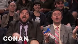 Tax Accountants Interrupt A CONAN Taping  - CONAN on TBS