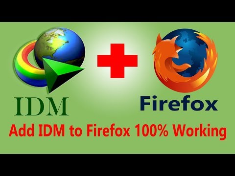 How To Fix IDM Integration With Firefox 2018 | IDM Integration For Firefox | Learning 4 You